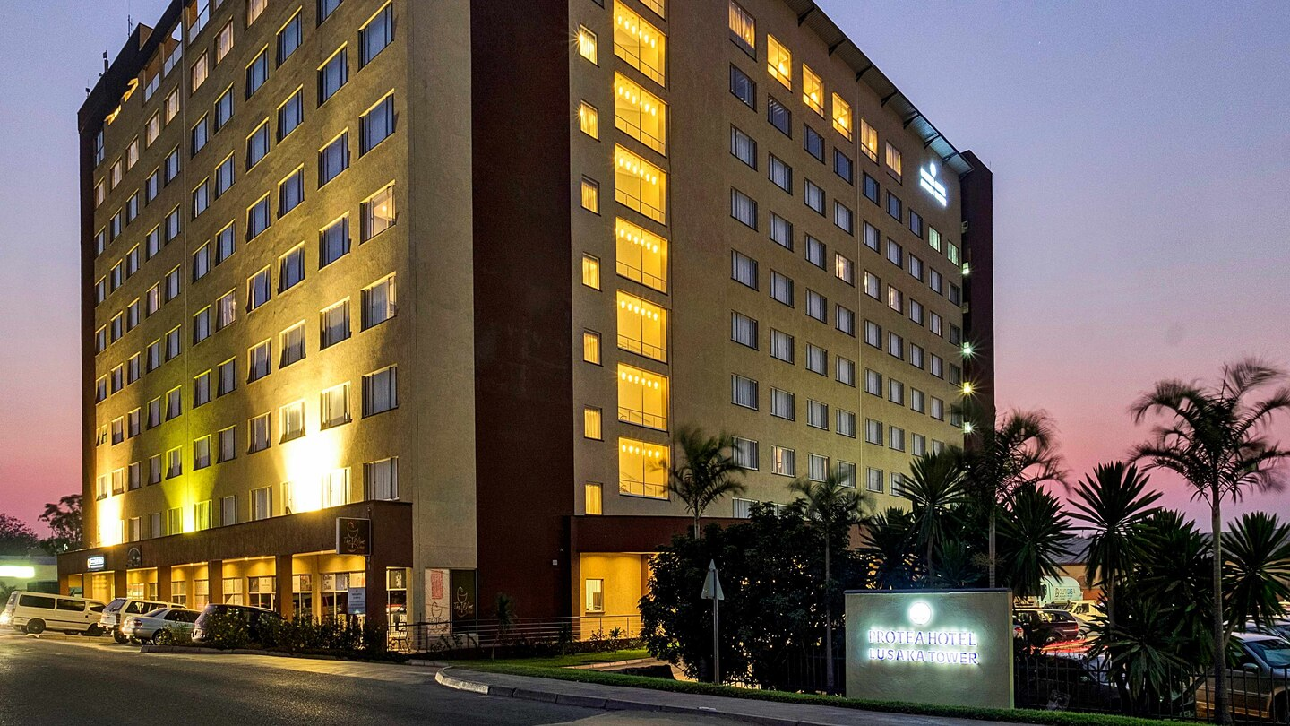 Best Hotels In Lusaka, Zambia - Noxiae Hotel Review: Protea Hotel Lusaka Tower